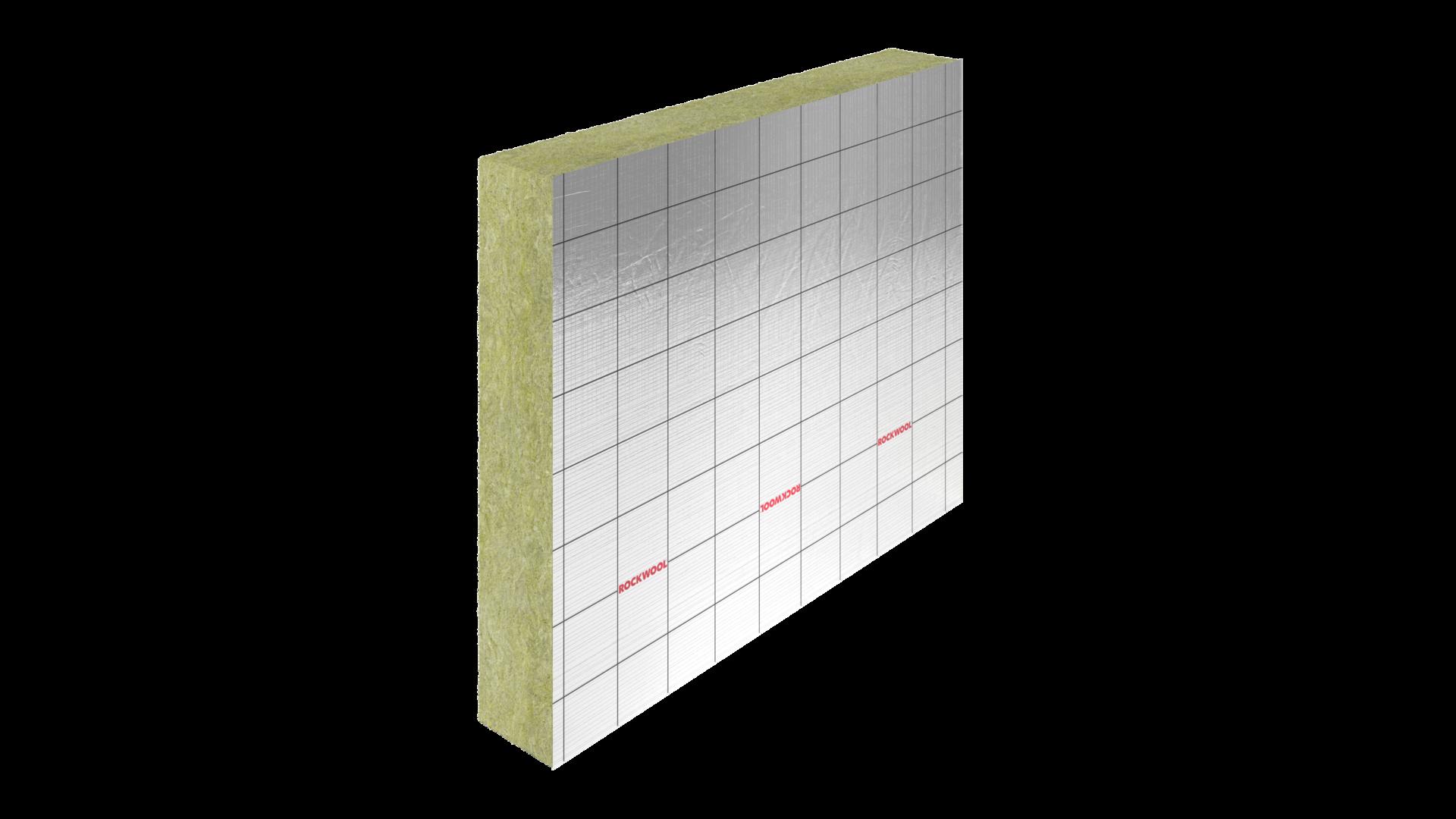 RockFit Mono Silver, productfoto, gevel, spouwmuurisolatie