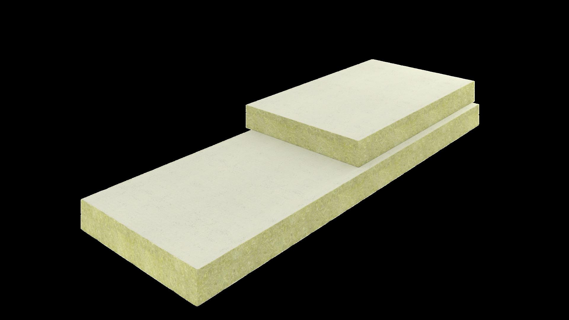 Plat dak isoleren met isolatieplaat rhinoxx d rockwool