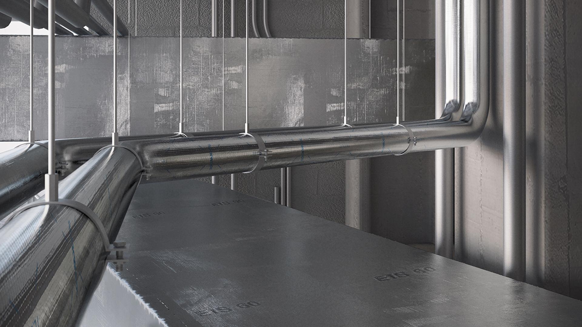Conlit Ductrock, productfoto, HVAC-FP, brandwerende toepassingen