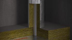 Conlit Penetration Board, productfoto, HVAC-FP, brandwerende toepassingen