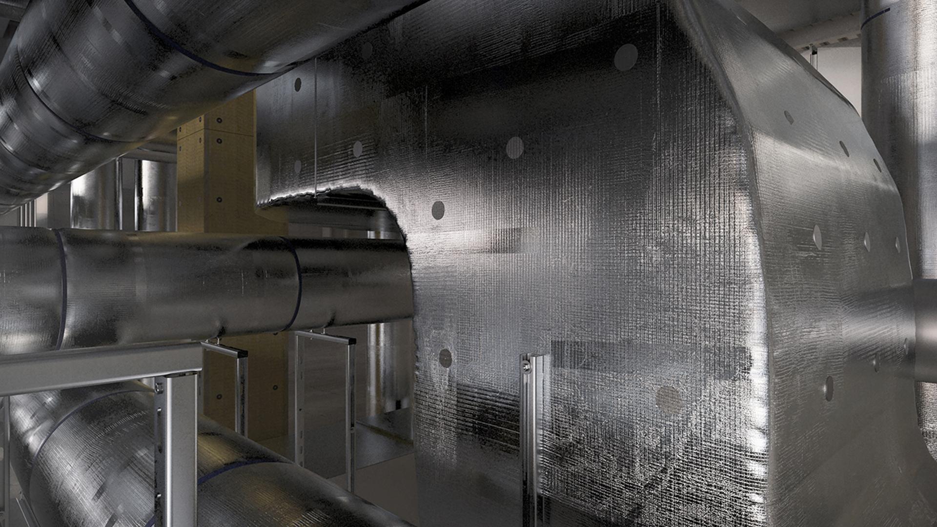 ROCKWOOL 133 (EF), productfoto, HVAC, thermische isolatie