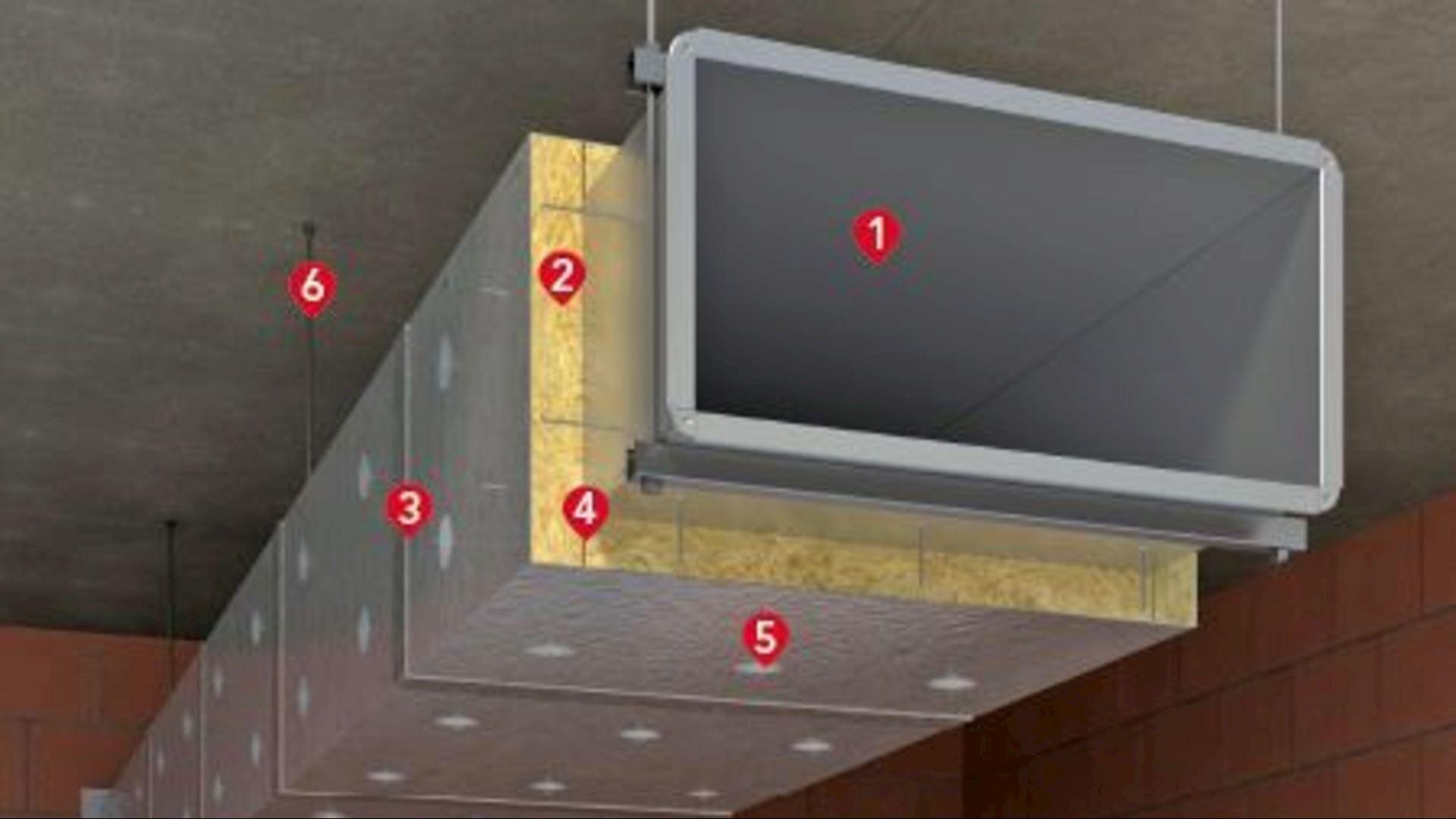 Product image, Conlit Ductrock mat, system