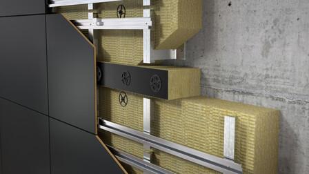 facade insulation, curtain wall, fireproof, fire barrier, brandriegel, germany, presse, press
