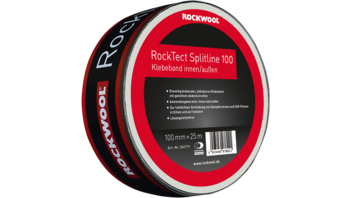 rocktect splitline, airtighness, adhesive tape, luftdichtsystem rocktect, white colour, germany