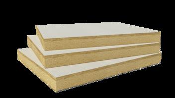 Rockfleece B Energy  White glass fleece coated slab. Flat roof insulation, FRI Hardrock Multifix Durock NRJ Multifix Durock Multifix