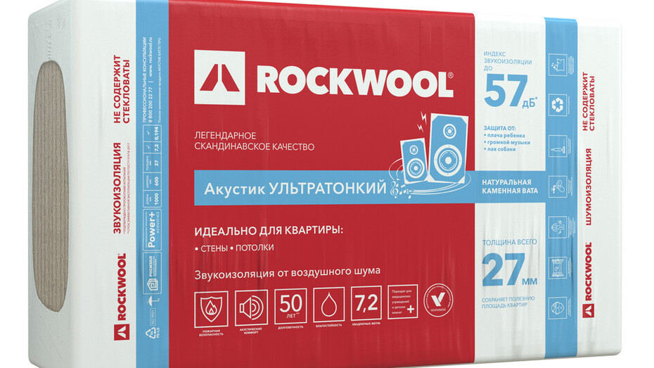 package, product, acoustic, new packaging, wall, ceiling, floor, insulation