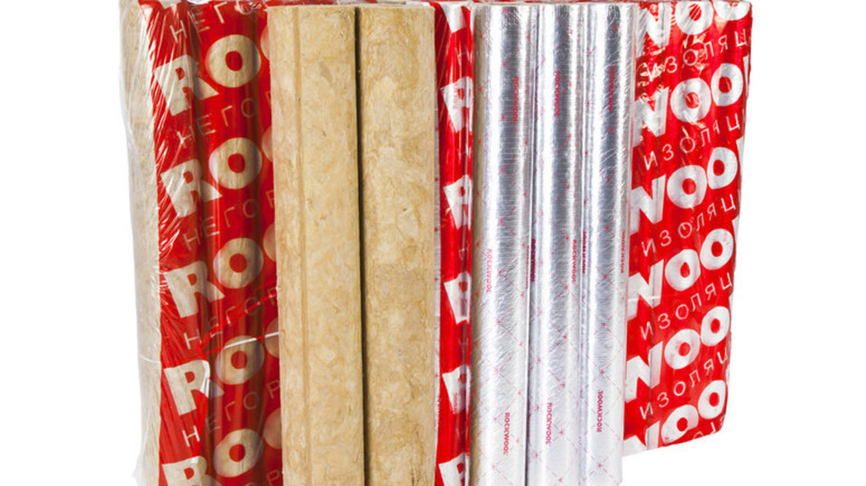 Spiral-welded pipe ROCKWOOL, package, product, pipes, Process industry, HVAC
