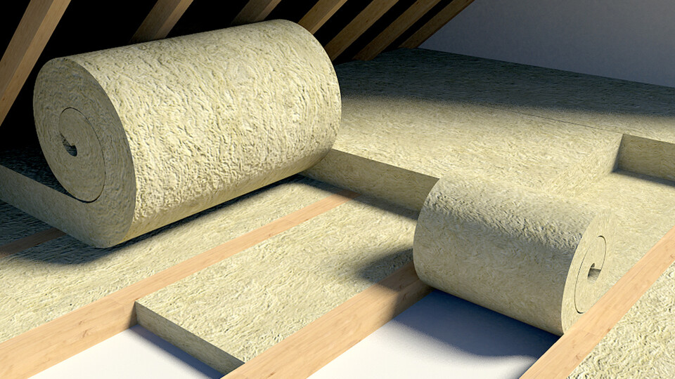 Roll Insulation, Loft, Attic