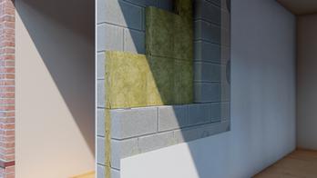 Separating Wall - Masonry - FULL FILL CAVITY SLAB