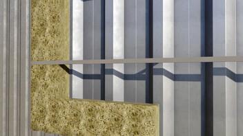 Twin Skin Walls - CLADDING ROLL
