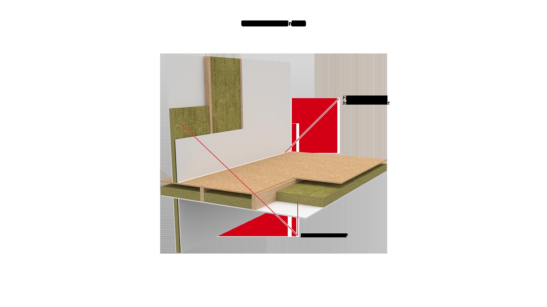 Internal Floor - Timber - FLEXI, Acoustic Intumescent Sealant