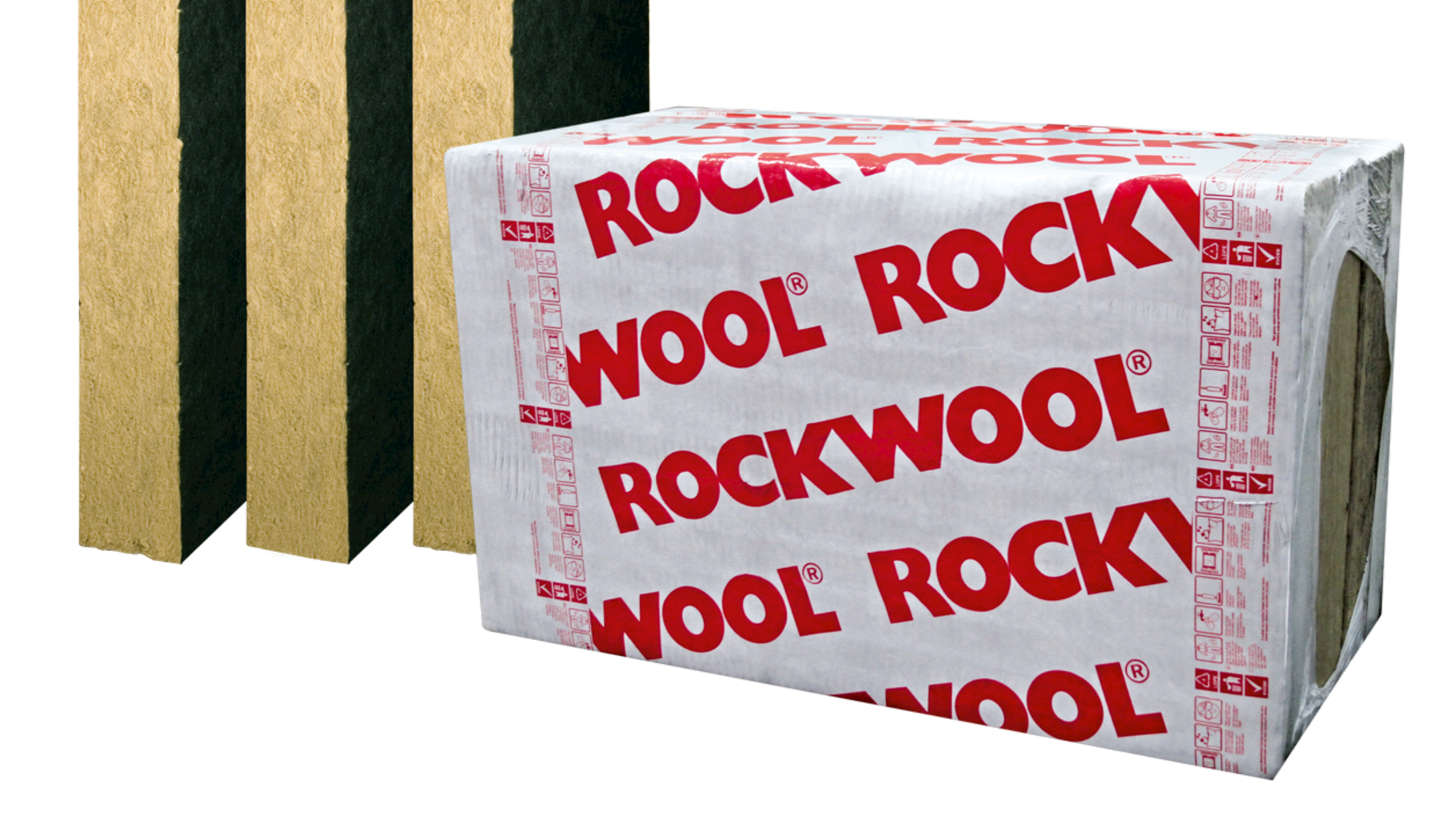 Techrock batt insulation with fleece