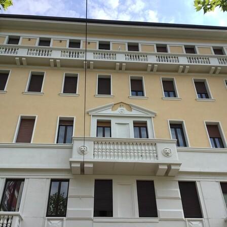 Case study MUH Viale Murillo, Milan (Italy) after renovation. ROCKWOOL solutions for: ETICS (REDArt System)