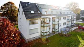 Multi-Unit House, roof, renovation, Germany, Dortmund, after