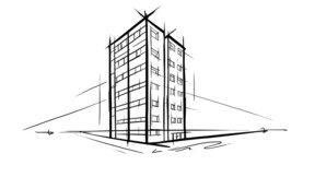 High rise sketch - large TIFF Building