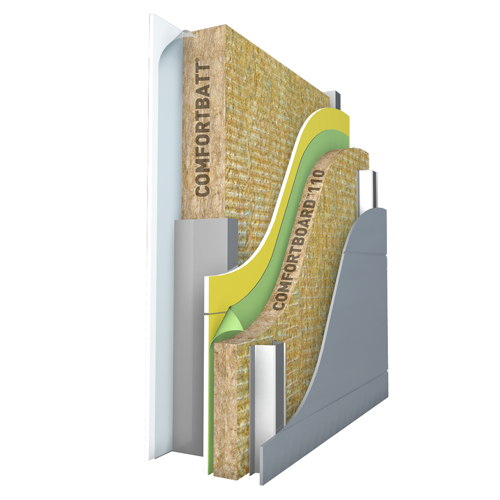 Continuous Insulation Rockwool