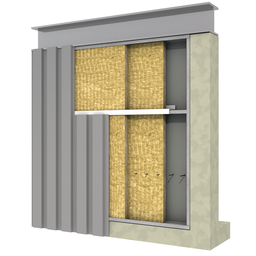 Metal Building Wall Insulation Rockwool