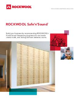 Safe N Sound Sound Proof Insulation Rockwool