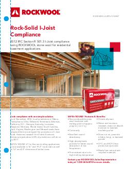 safe 39 n 39 sound sound proof insulation rockwool. Black Bedroom Furniture Sets. Home Design Ideas
