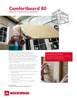 Comfortboard 80 rockwool - Icon exterior building solutions ...