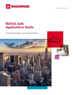 Roxul safe 45 - Icon exterior building solutions ...